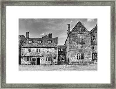 The Lygon Arms Broadway Worcestershire Uk Framed Print