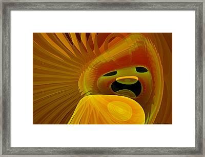The Lyon Clown Framed Print