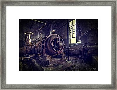 The Machine Framed Print by Everet Regal