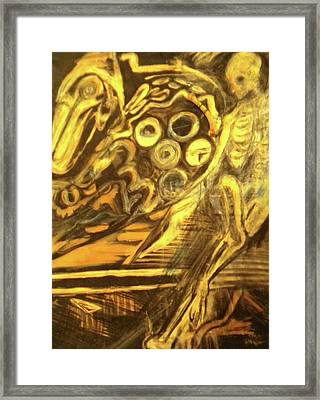 The Machine Framed Print by Victoria Hasenauer