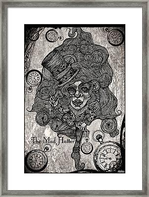 The Mad Hatter Framed Print