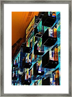The Madhouse Framed Print
