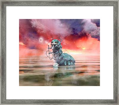 The Madness Of It All Framed Print