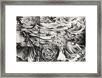 The Maelstrom Framed Print by Rachel Christine Nowicki