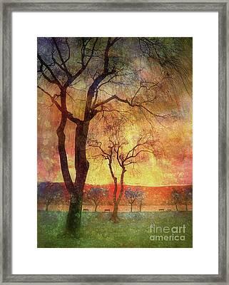The Magic Beach Framed Print