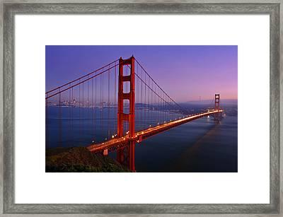 The Magic Bridge Framed Print