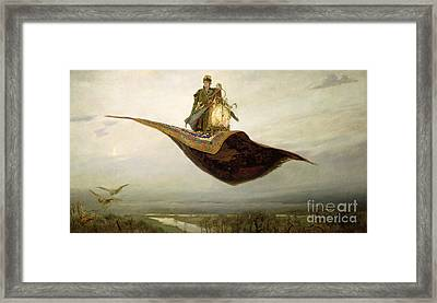 The Magic Carpet Framed Print by Apollinari Mikhailovich Vasnetsov