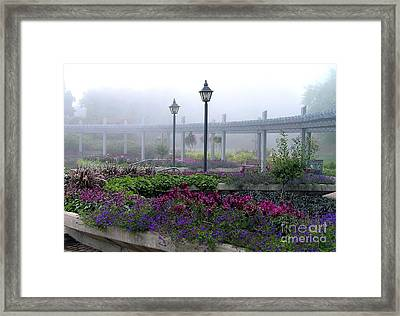 The Magic Garden Framed Print