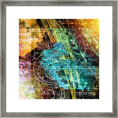The Magic Key. Framed Print