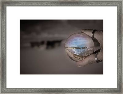 Framed Print featuring the photograph The Magic by Lora Lee Chapman