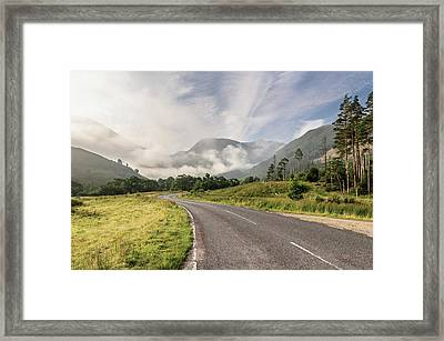 The Magic Morning Framed Print