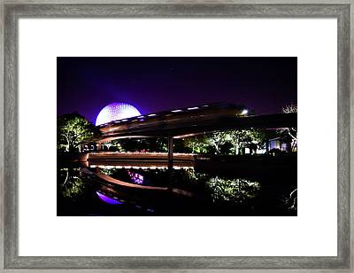 The Magic Of Epcot Framed Print