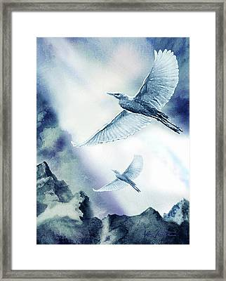 The Magic Of Flight Framed Print by Hartmut Jager