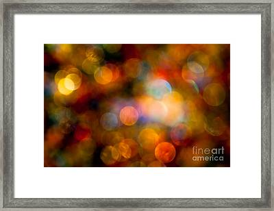 The Magic Of Your Touch Framed Print