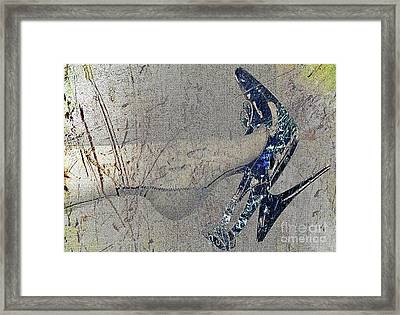 The Magic Power Of Dangling Framed Print by Don Pedro De Gracia
