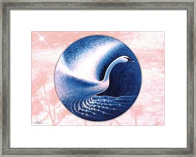 The Magic Swan Framed Print