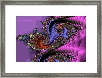 The Magic Triapus Framed Print