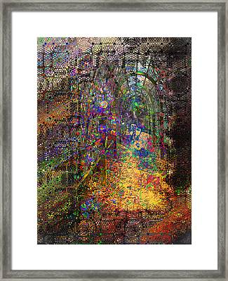The Magic Tunnel Framed Print by Mimulux patricia no No