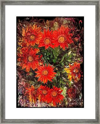 The Magical Flower Garden Framed Print