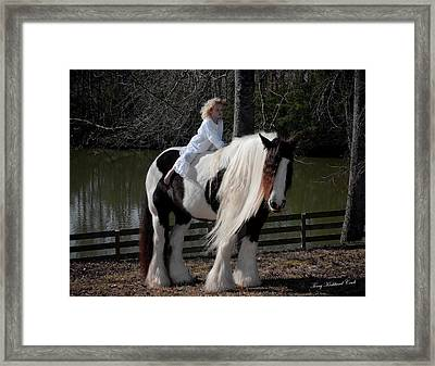 The Magical Moonlight Framed Print by Terry Kirkland Cook