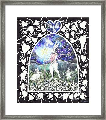 The Magician Framed Print by Lise Winne
