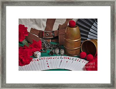 The Magician's Retreat Framed Print