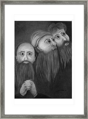 The Magis Framed Print