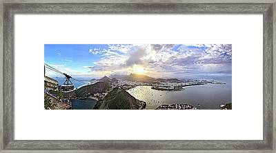The Magnificent City Framed Print