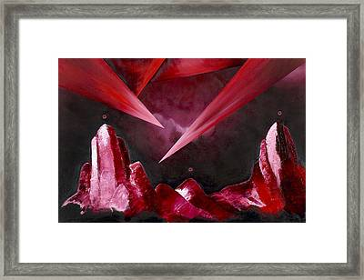 The Magnificent Enigma Framed Print by Ara  Elena