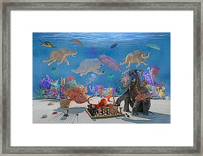 The Magnificents Oil By Betsy C Knapp Framed Print by Betsy Knapp