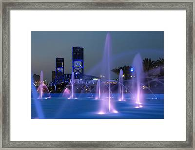 The Main Street Bridge Framed Print by Lori Deiter
