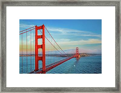 Framed Print featuring the photograph The Majestic by Az Jackson