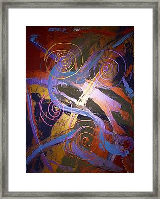 The Majestic Framed Print by Joey Santiago