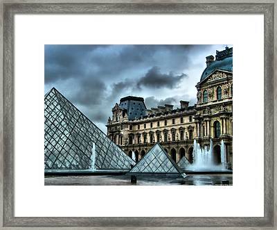 The Majestic Louvre Framed Print by Greg Sharpe