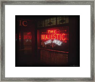 The Majestic Framed Print by Tim Nyberg