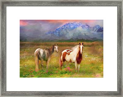 The Majestic Pasture Framed Print