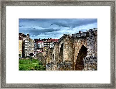 The Majestic Ponte Vella Framed Print