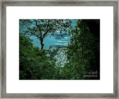 Framed Print featuring the photograph The Majestic Victoria Falls by Karen Lewis