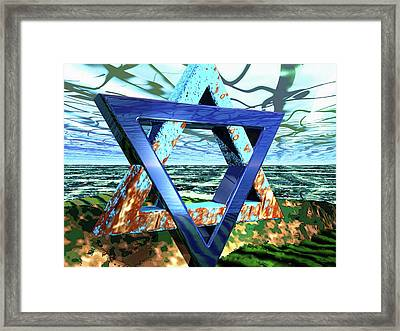 The Making Of Meaning Framed Print