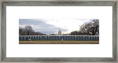 The Mall Washington Dc Framed Print by Wayne Higgs