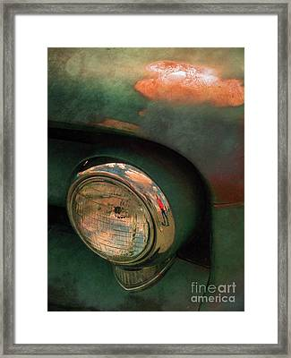The Man At The Car Show Framed Print