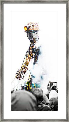 The Man Engine Framed Print by Terri Waters