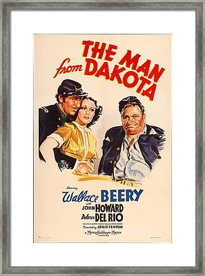 The Man From Dakota 1940 Framed Print by Mountain Dreams
