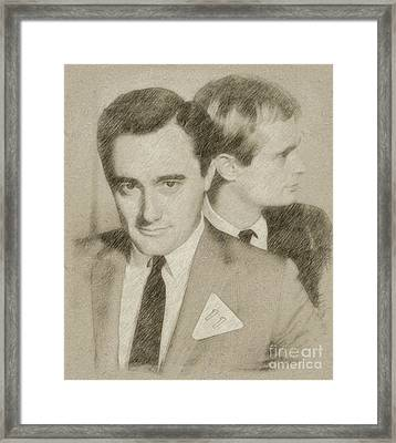 The Man From Uncle Framed Print