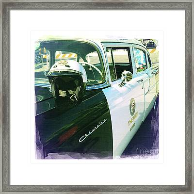The Man Framed Print by Nina Prommer