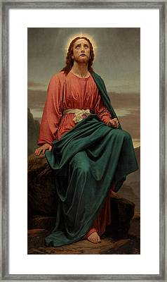 The Man Of Sorrows Framed Print