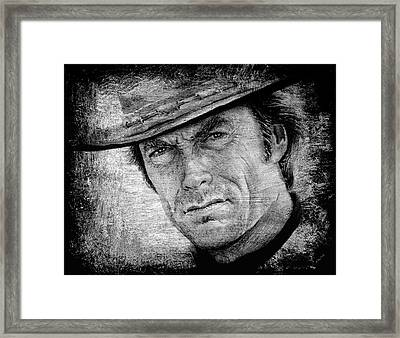 The Man With No Name Framed Print by Andrew Read