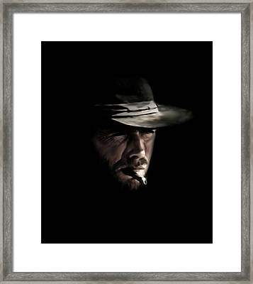 The Man With No Name Framed Print by Laurence Adamson