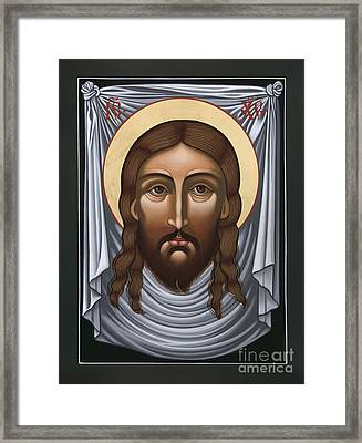 The Mandylion - The Face Not Made By Human Hands 092 Framed Print