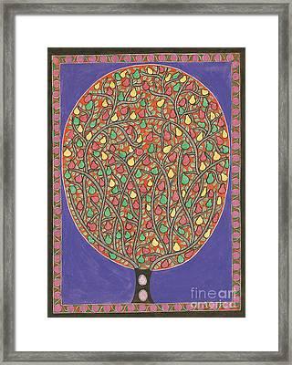 The Mango Tree Framed Print